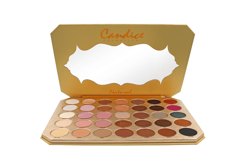 Candice Be Natural - 35 Shade Eyeshadow Palette
