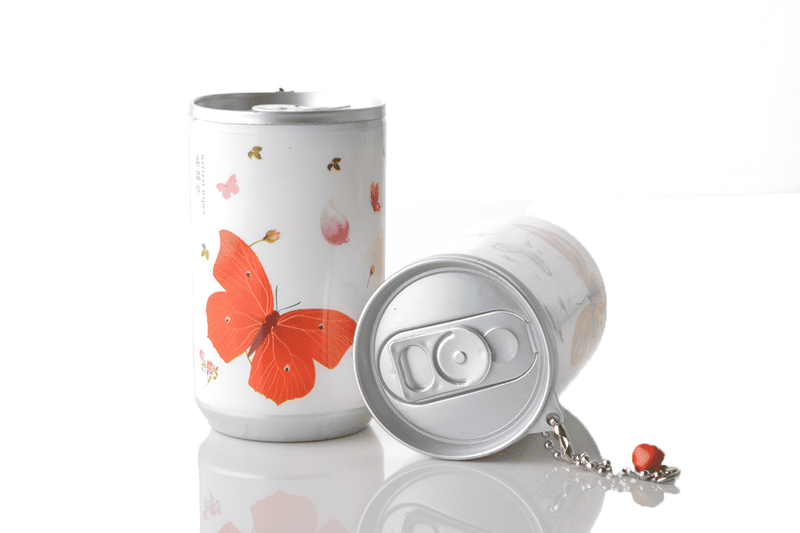 Soda Pop Can Travel Wet Wipes - Spring Flutter Butterfly