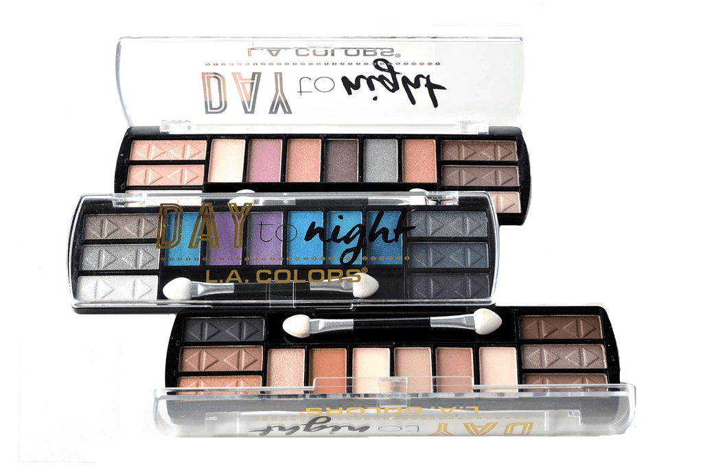 L.A. Colors Day To Night Eyeshadow Palettes, COSMETIC