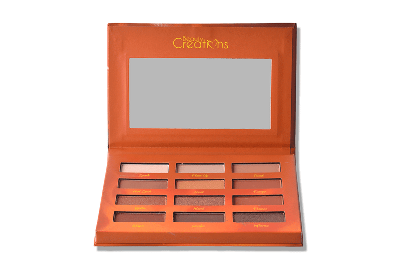 Beauty Creations Hot Fire - 12 Shade Eyeshadow Palette
