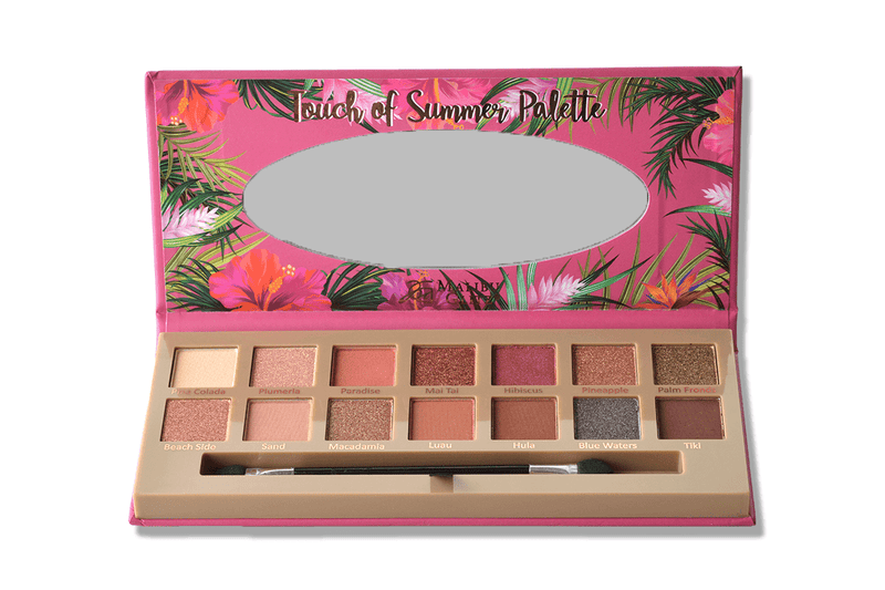 Malibu Glitz Touch Of Summer - 14 Shade Eyeshadow Palette