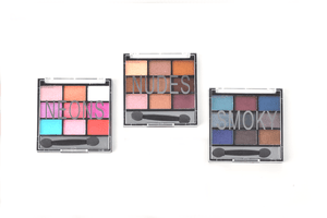 Santee 9 Shade Eyeshadow Collection - 6 Styles