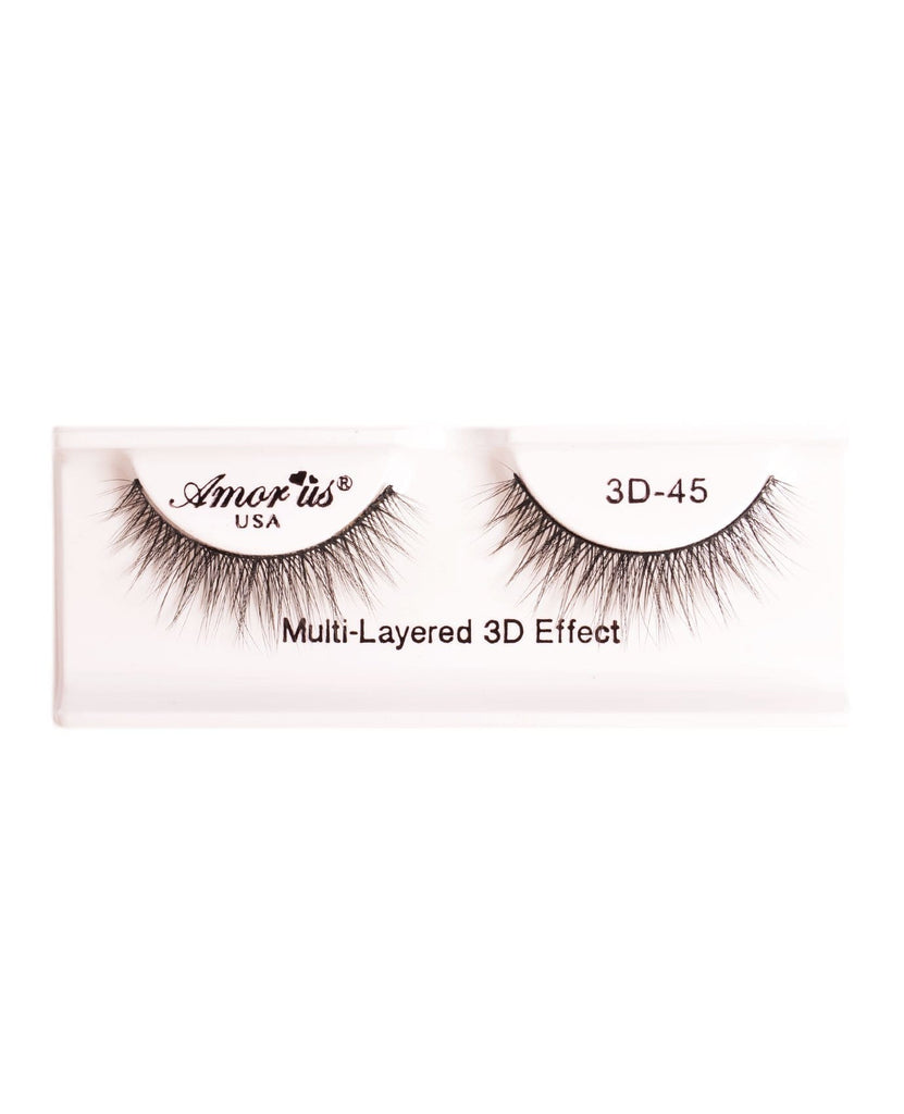 Amor Us 3D Faux Mink Eyelashes- 45, Eyelash
