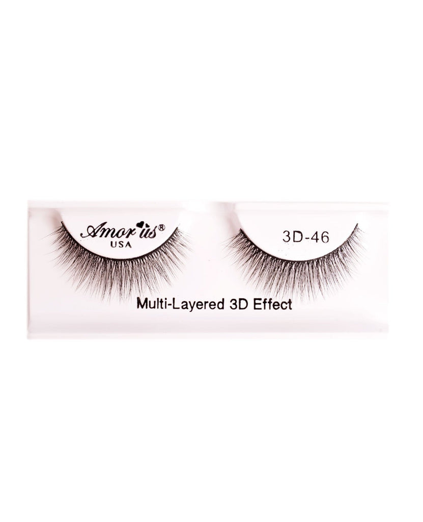 Amor Us 3D Faux Mink Eyelashes- 46, Eyelash