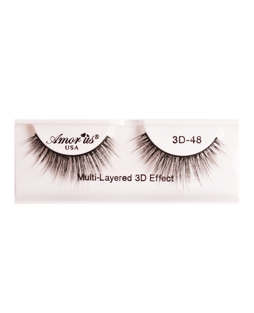 Amor Us 3D Faux Mink Eyelashes- 48, Eyelash