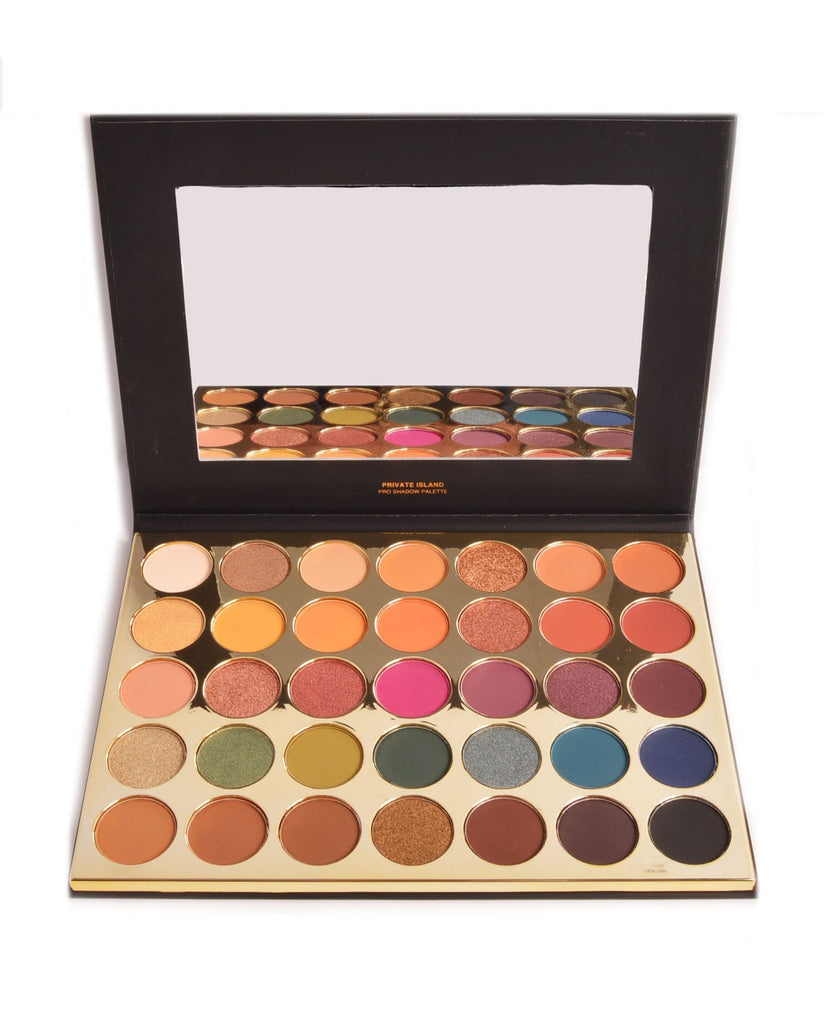 Kara Beauty Private Island Pro Shadow Palette, COSMETIC