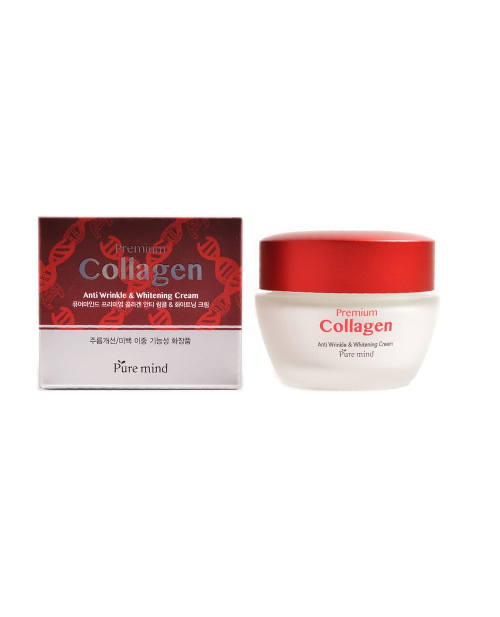 Pure Mind Premium Collagen Anti Wrinkle & Whitening Cream