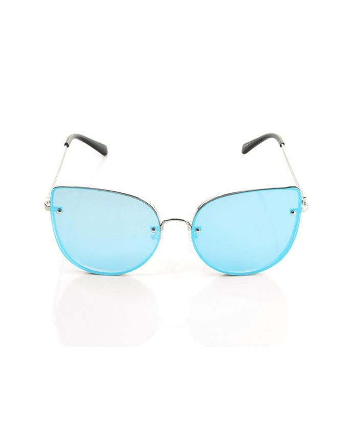 Frameless Cat Eye Fashion Sunglasses, Sunglasses