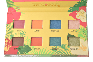 Trend Beauty Summer Vibes 8 Shade Eyeshadow Palette