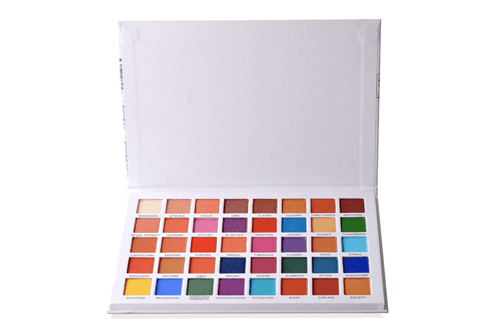 Prolux Talk To Me - 40 Shade Eyeshadow Palette, COSMETIC