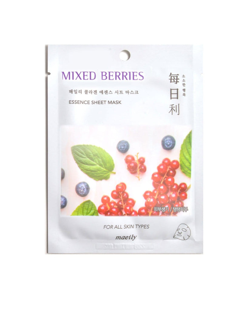 Maeily Essence Mask-Mixed Berries