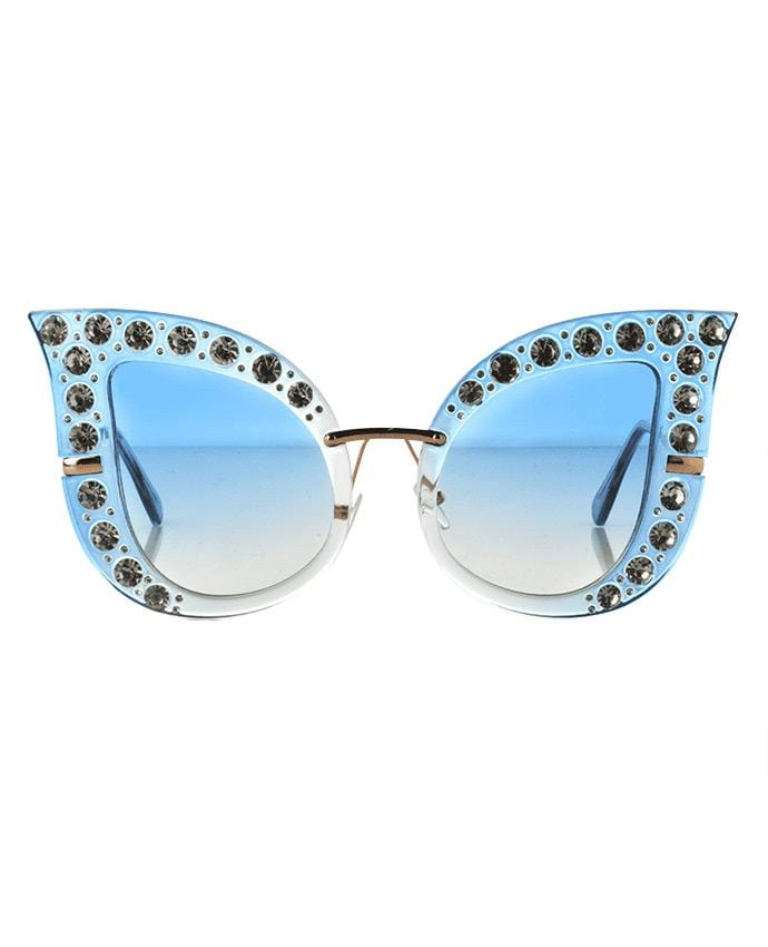 Diva Cat Eye Sunglasses, Sunglasses