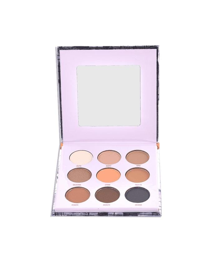 Okalan Fancy - The Bronze Palette - 9 Shade Eyeshadow Palette