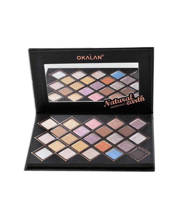 Okalan Natural Earth Eyeshadow Palette, COSMETIC