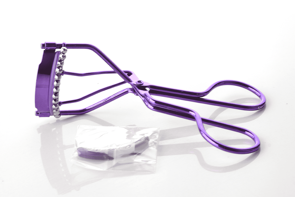 Px Look Bedazzled Metal Eyelash Curler - Purple, BEAUTY TOOLS