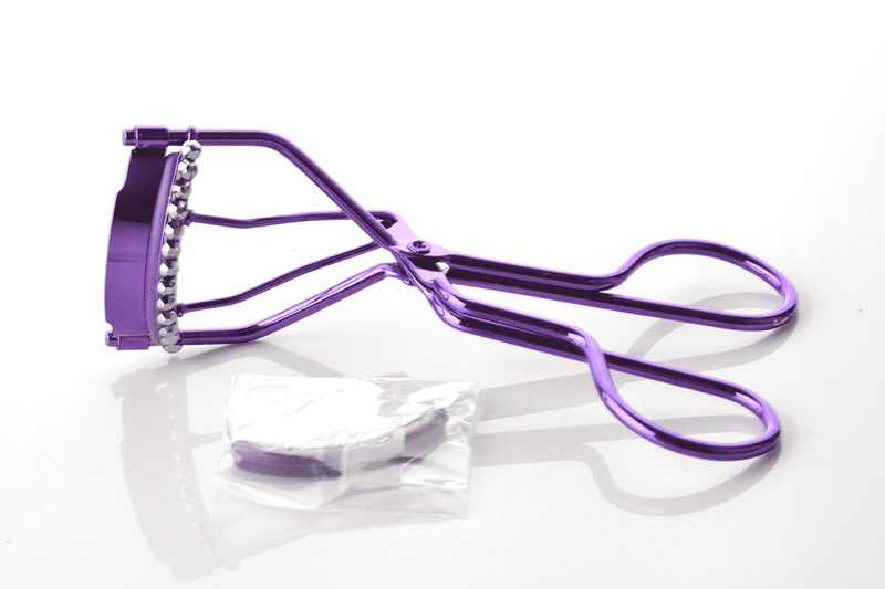 Px Look Bedazzled Metal Eyelash Curler - Purple