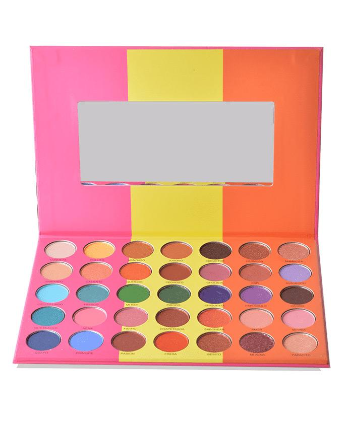 Prolux Que Mango - Eyeshadow Palette, COSMETIC