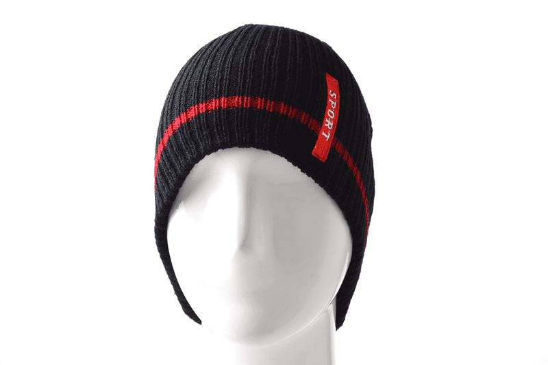 Sporty Knitted Beanie