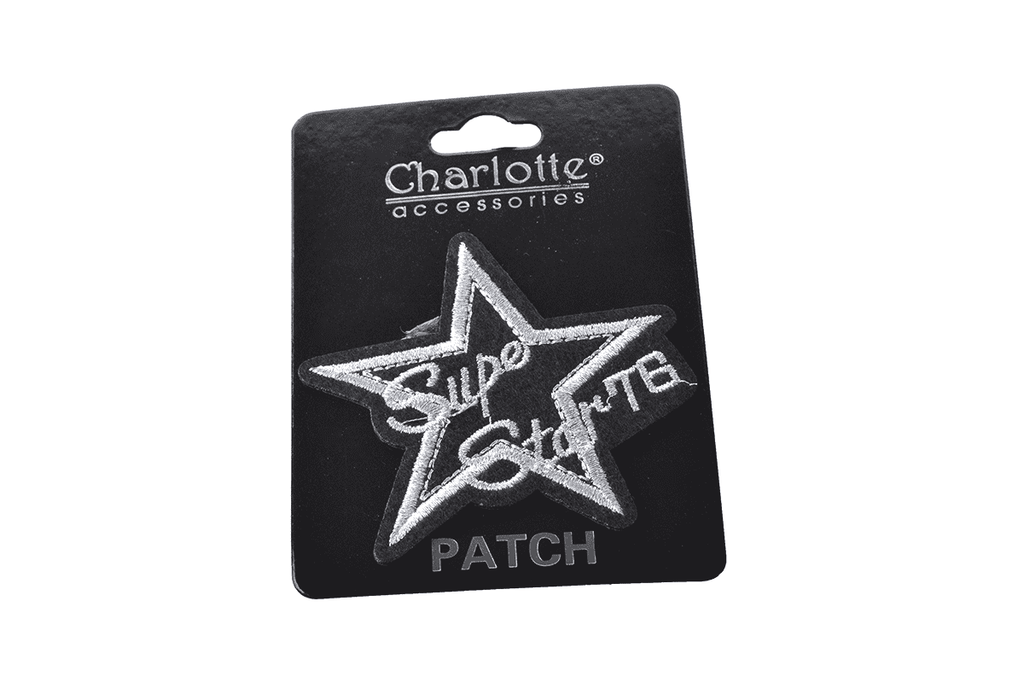 Super Star Iron On Patch, Accessories