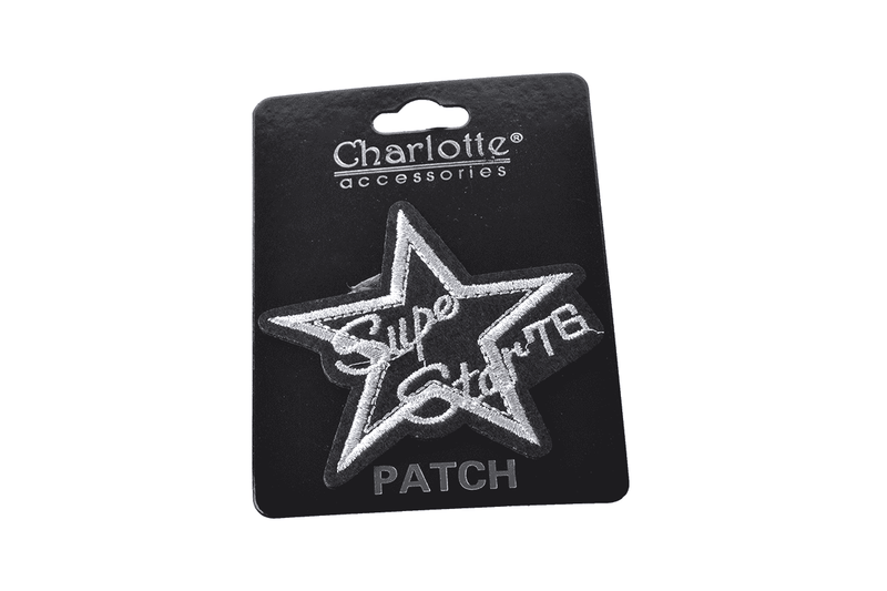 Super Star Iron On Patch