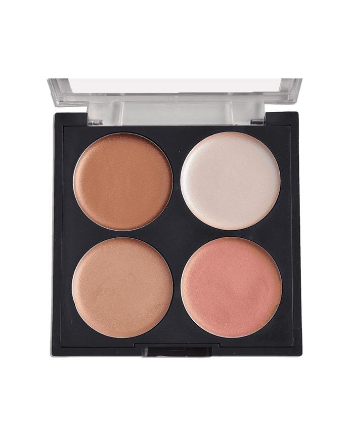 Santee Ultimate Glow Face 462 - 4 Shade Contour Palette