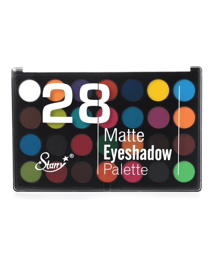 Starry 28 Color Matte Eyeshadow Palette - B, COSMETIC