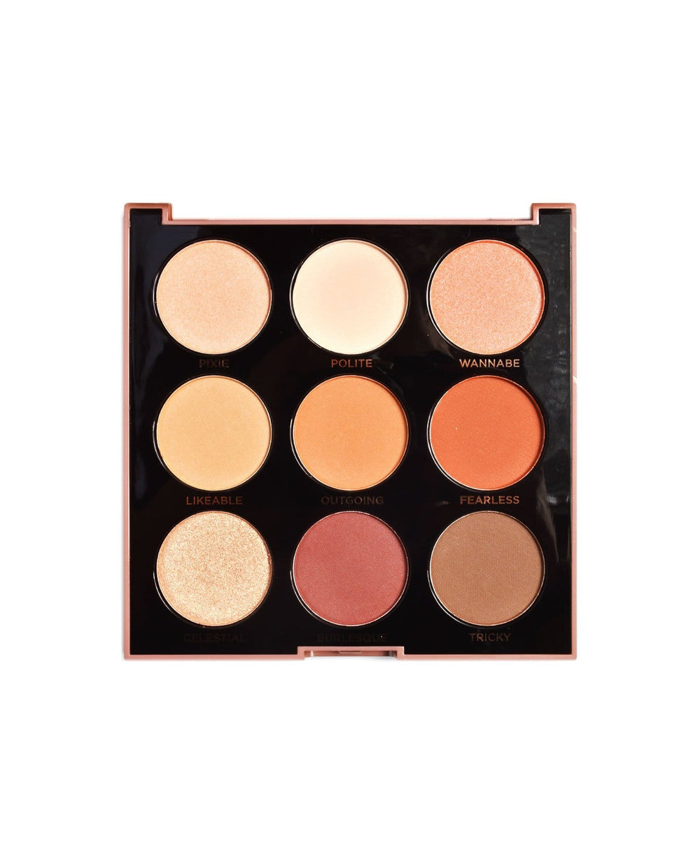 Profusion Mixed Metals Eyes- Amber Eyeshadow Palette