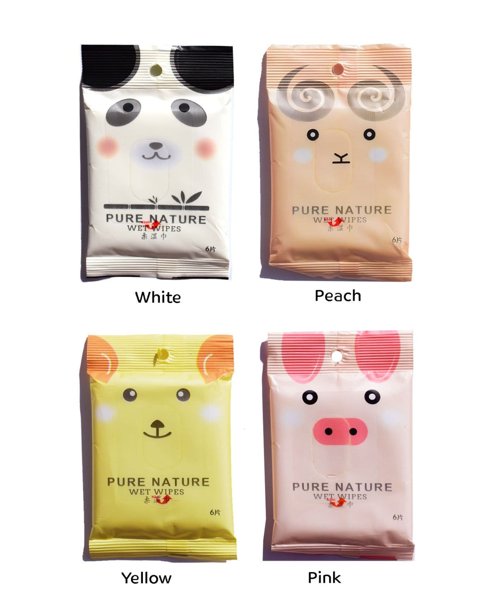 Cute Animals Wet Wipe Bag