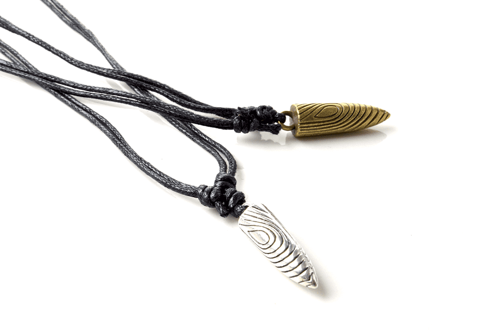 Engraved Bullet Necklace- 2 Styles