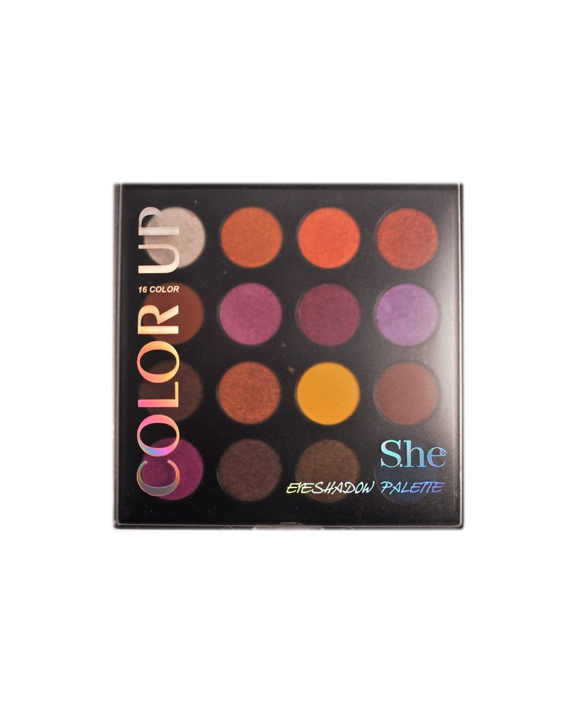 S.he Color Up 16 Shade Eyeshadow Palette