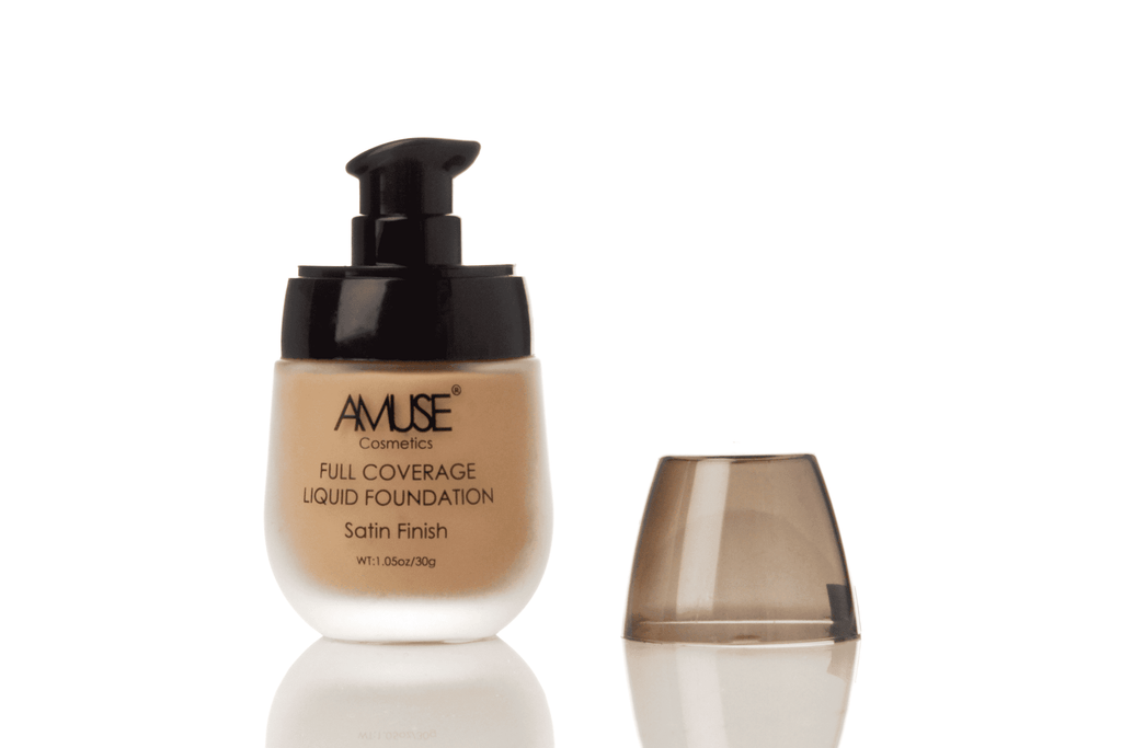 Amuse Satin Full Coverage Liquid Foundation - B - 5 Shades, COSMETIC,  JB & EVES,  JB & EVES