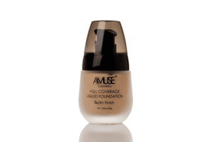 Amuse Satin Full Coverage Liquid Foundation - A - 4 Shades, ,  JB & EVES,  JB & EVES