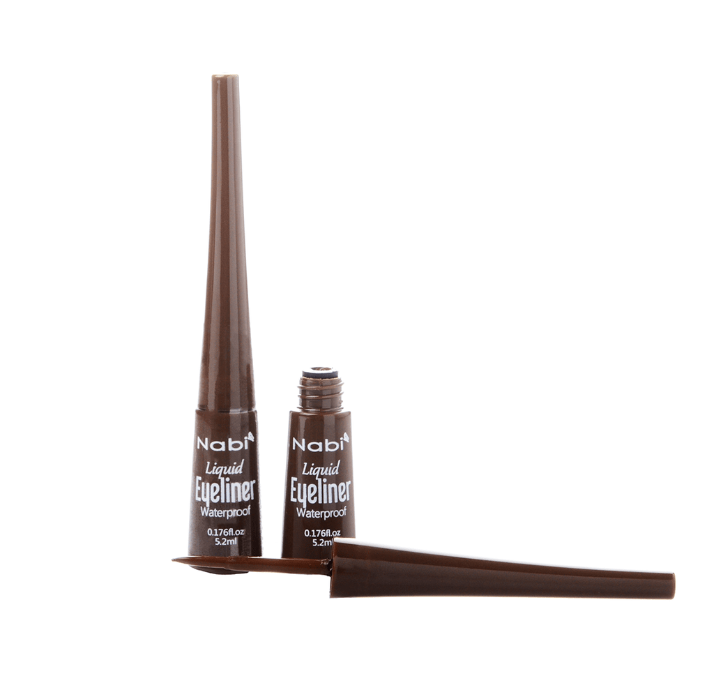 Nabi Liquid Eyeliner Brown Waterproof, COSMETIC
