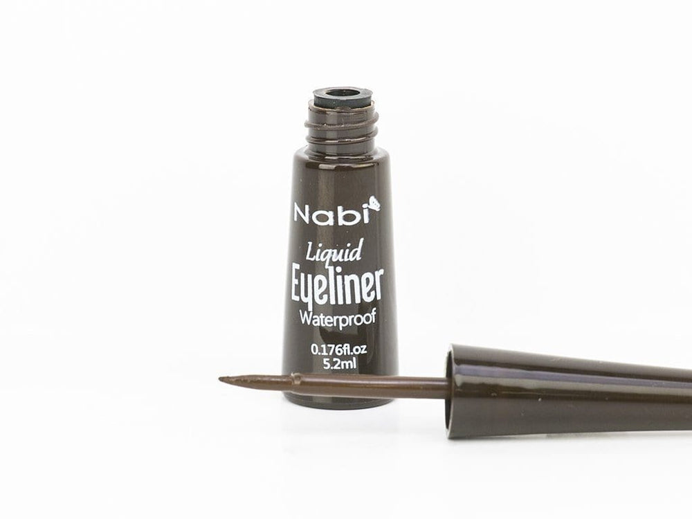 Nabi Liquid Eyeliner Dark Brown Waterproof, COSMETIC
