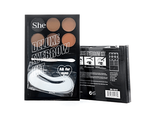 S.he Deluxe Eyebrow Kit (For All Eyes), COSMETIC