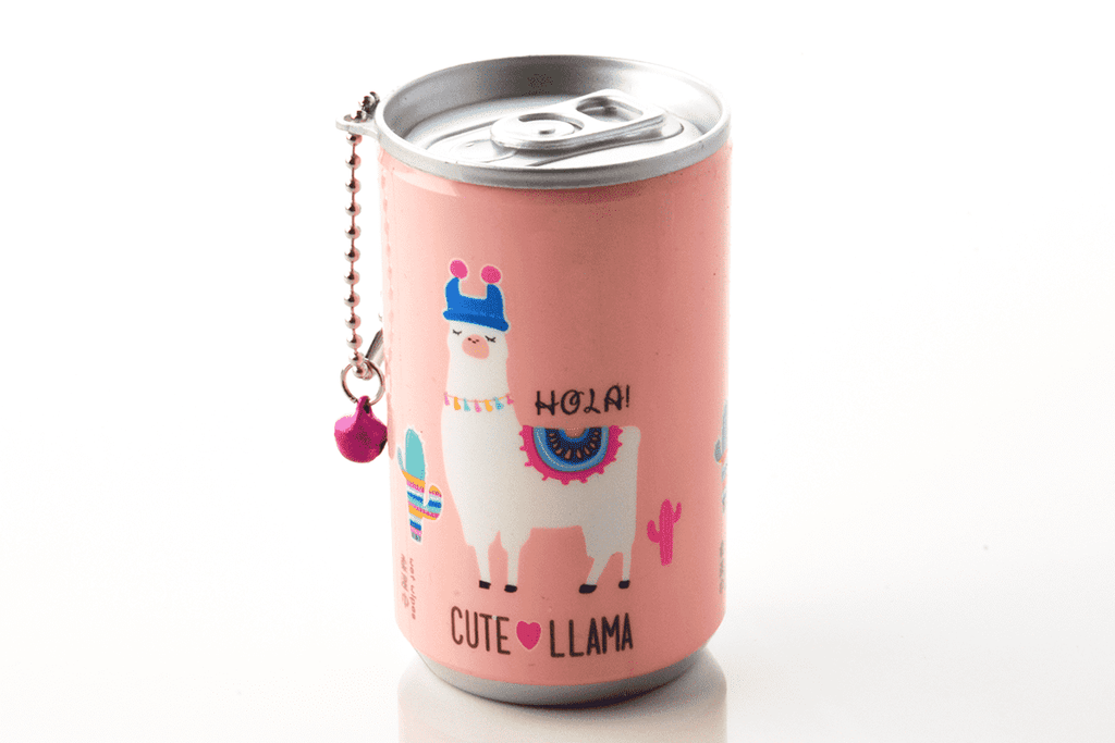 Soda Pop Can Wet Wipes-Llamas