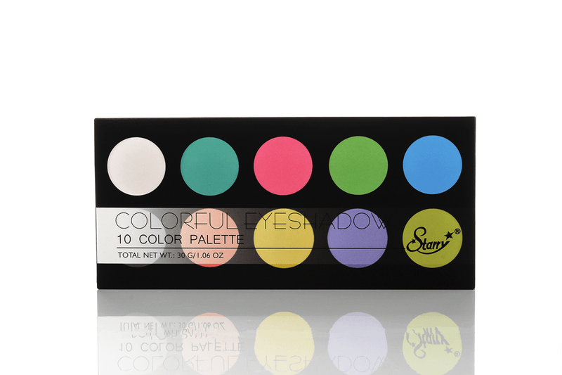 Starry Neon Colorful Eyeshadow Palette