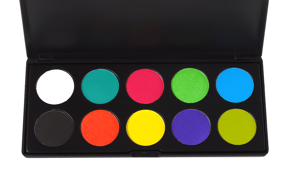 Starry Neon Colorful - 10 Shade Eyeshadow Palette