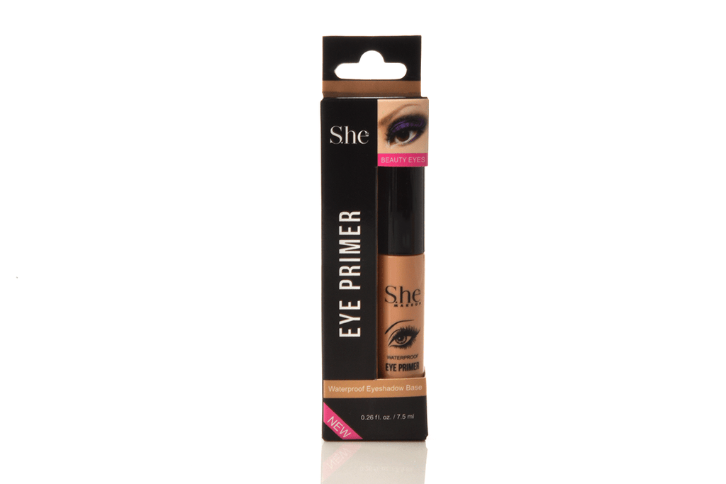 S.he Waterproof Eye Primer - Nude, COSMETIC