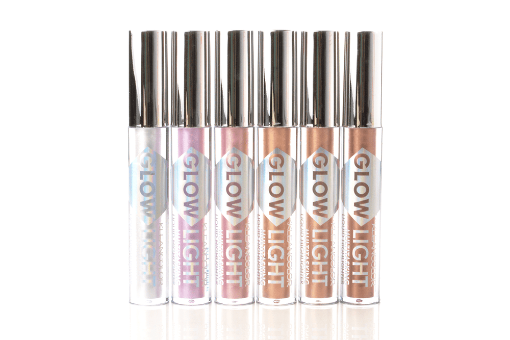 KleanColor Glow Light Multitasking Liquid Highlighter - A - 6 Shades