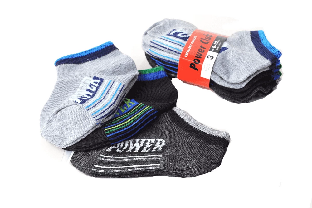 Power Club Boys Power Sport Toddler Socks, EVES