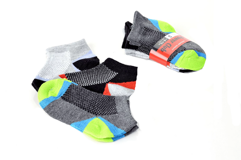 Power Club Boys Sporty Toddler Socks