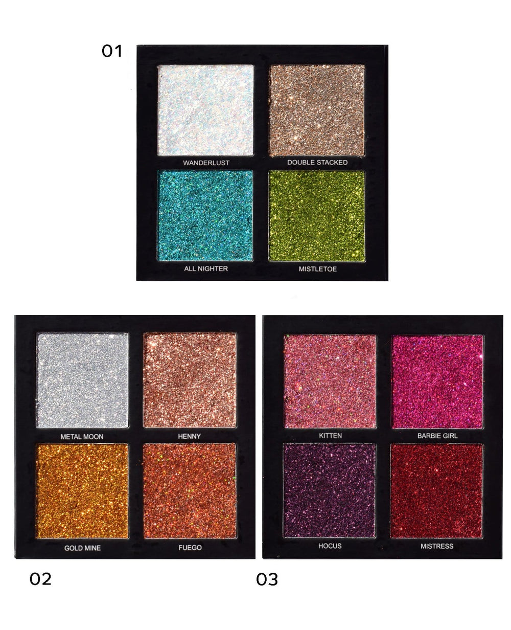 Prolux Ultra Light Eyeshadow Palettes