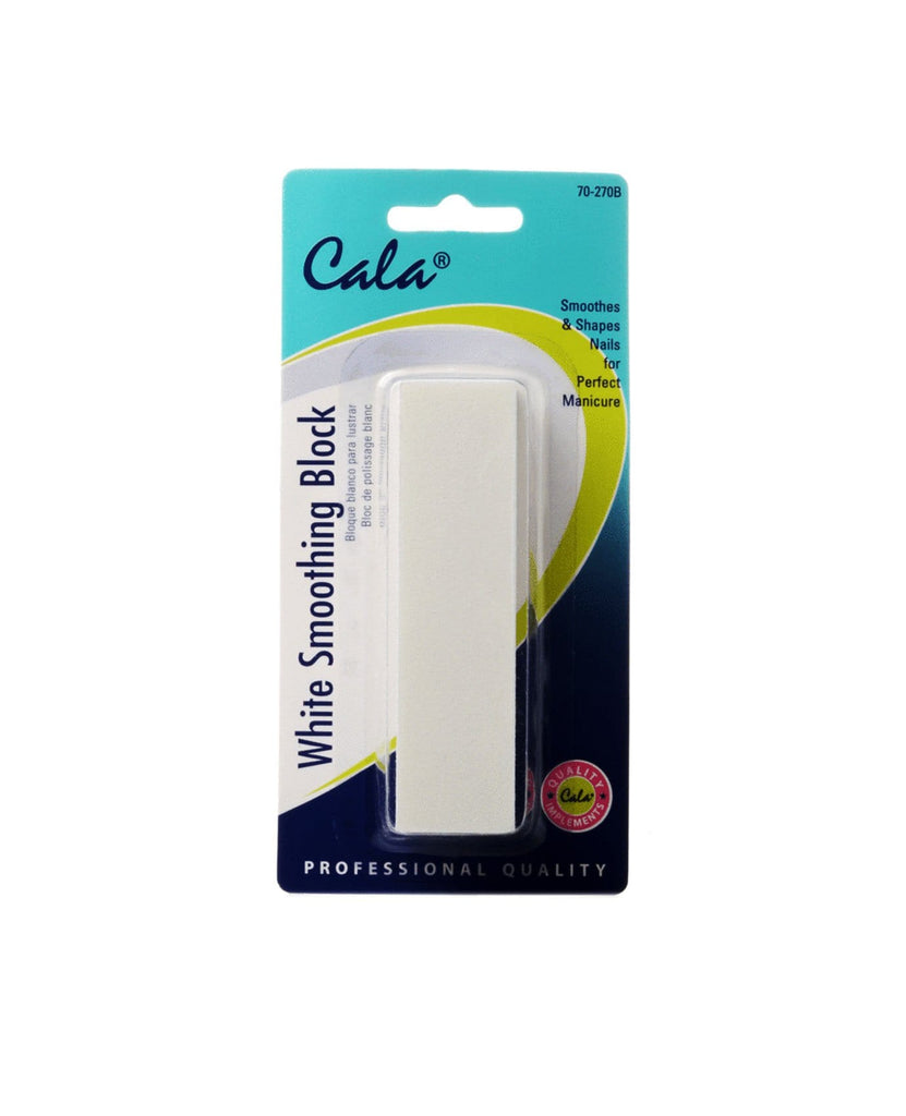 White Smoothing Block, BEAUTY TOOLS