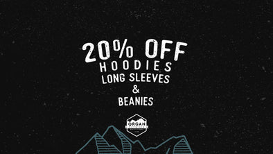 Take 20% Off Hoodies, Long Sleeves, & Beanies!