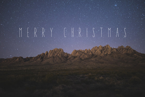 A Christmas Story: How Organ Mountain Started