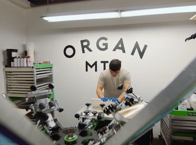Screen Printing + Organ Mountain Outfitters