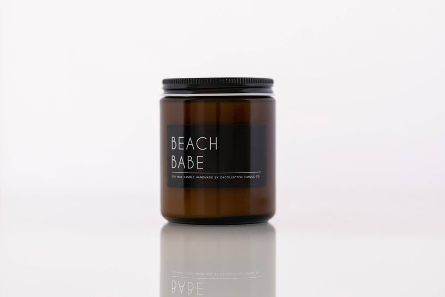 OKcollective Candle Co. - Candle // Beach Babe 8oz - Organ Mountain Outfitters