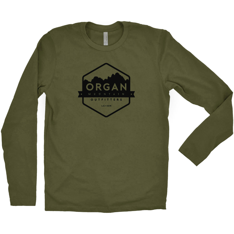 100% Cotton Classic Logo Long Sleeve T-Shirt - Organ Mountain Outfitters