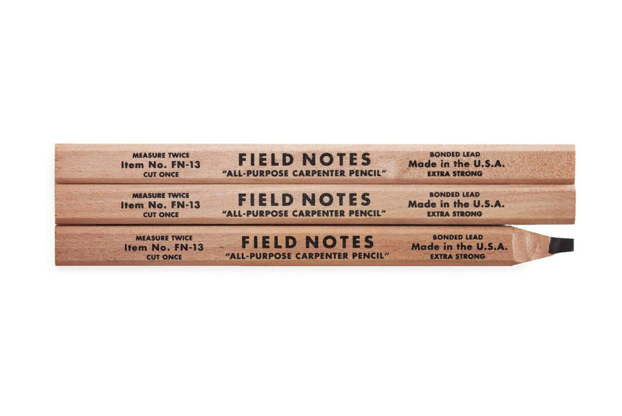 Field Notes - Carpenter Pencil 3-Packs - Organ Mountain Outfitters
